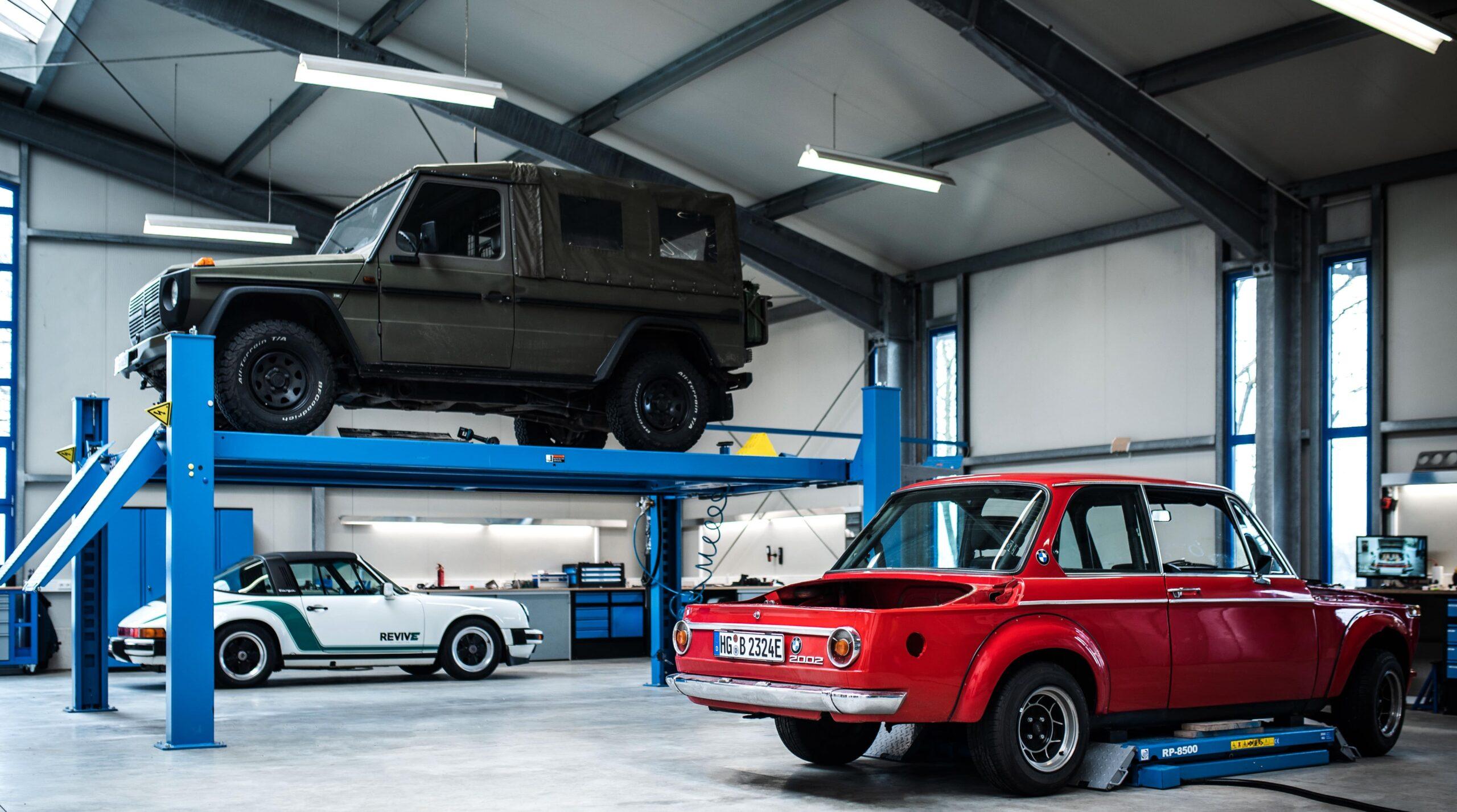 Revive Development, Garage